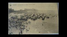 Ook toen was het al druk op het strand van Oostende