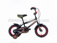 "GIFTED KID12"" HIGH STRENGER STELL BLACK CHILDREN BIKE KIDS BICYCLE #bicycles, #black"