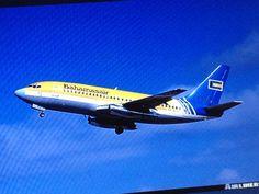Bahamasair 737  FLL to NAS 1985