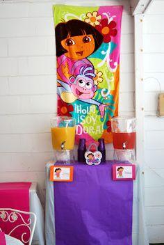 Gabriel's Good Tidings: Dora Birthday Party Menu