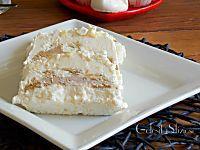 Tronchetto gelato caffè panna e meringhe - ricetta gelato senza gelatiera