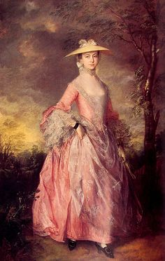ca 1763 Mary Countess Howe by Thomas Gainsbourgh