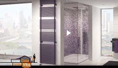 """Il radiatore NET e il radiatore TESI sono le scelte di Andrea Castrignano nell'ultima puntata di """"Cambio Casa, cambio vita"""". *** NET and TESI radiator are the choices of interior designer Andrea Castrignano in the TV show """"Cambio casa, cambio vita""""."""