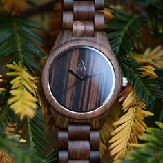 Nature beautiful🌲🍂🍃 Shop https://treehut.co/collections/all-wooden-band-wood-watch/products/all-wood-watch-all-ebony-37?variant=8374962691
