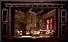 Sherlock's Last Case - Produced by The New York State Theatre Institute in  Albany New York.   The Set Design was by Richard Finkelstein.