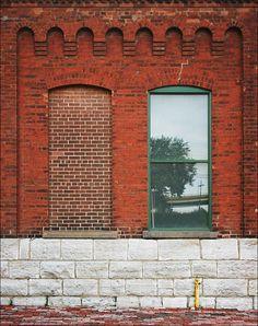 Stone and brick combo...