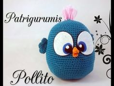 DIY Pollito amigurumi en ganchillo - Crochet - YouTube