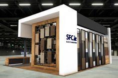 Interior Design Exhibition, Exhibition Stall, Exhibition Stand Design, Web Banner Design, Lobby Interior, Interior Architecture, Standing Signage, House Front Design, Facade Design