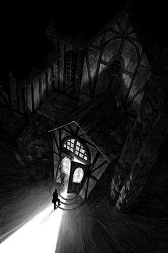 The Waking That Kills - Nico Delort Illustrator