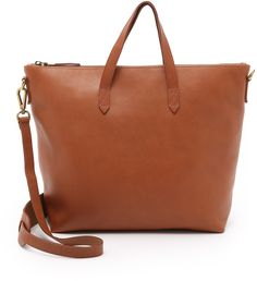 Madewell The Zip Transport Tote