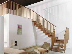 Открытая лестница UNIKA Colonnine in Legno by Fontanot - Albini