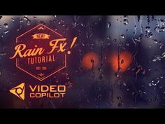 Realistic Rain Drop FX Tutorial! 100% After Effects! - YouTube