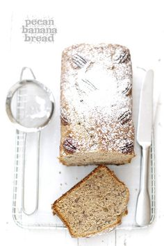 Pecan Banana Bread #recipe