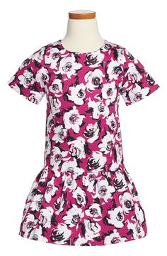 kate+spade+new+york+kids+'mellie'+floral+print+drop+waist+dress+(Big+Girls)+available+at+#Nordstrom