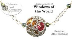 Windows of the World  - Pendant, Beaded Bead, Necklace, Earrings, Bracel...