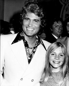 Michael Landon and Alison Arngrim! She is so young in this picture!