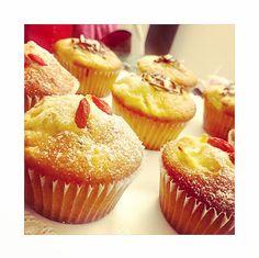 Muffin albicocca e goji
