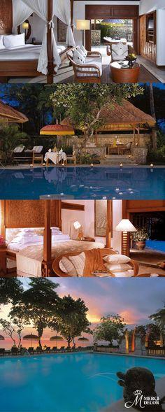 The Oberoi, Bali, Indonésia. Hotel localizado à beira da praia de Seminyak, com seus 15 hectares de jardins tropicais. Diárias a partir de R$ 880,00. http://www.oberoihotels.com/oberoi_bali