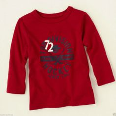 TCP Toddler Boy Awesome Winter Sport Tee Brick Red Hockey Graphic - Sz 2T - $9.99 - Re-list April 23, 2014 - #FreeShipping