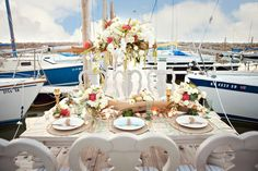 Styled Shoot: Nautical Wedding Ideas by Design Loves Detail