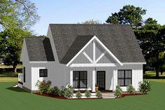 Loft Floor Plans, Loft Plan, Cottage Floor Plans, Cottage House Plans, Bedroom House Plans, Small House Plans, House Floor Plans, Cute Small Houses, Tiny Houses