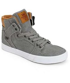 Supra Vaider Canvas Skate Shoes