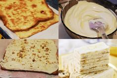 Prajitura cu smantana si foi de miere Ethnic Recipes, Food, Essen, Meals, Yemek, Eten