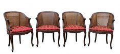 Ensemble De 4 Fauteuils De Style Louis XV, Galerie des Minimes, Proantic Style Louis Xv, Chair, Furniture, Home Decor, Antique Shops, Armchairs, Decoration Home, Room Decor, Home Furnishings