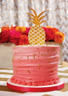 Yay ONE! Chic & Vibrant Pineapple First Birthday