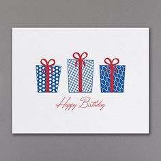 simplistic elegance executive business birthday cards http