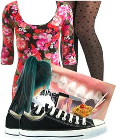 """""""my online set c:"""" by trill-anons-xoxo ❤ liked on Polyvore"""