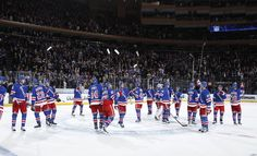 Rangers Fan Salute - Blueshirts United - Rangers-Jets: The Collection