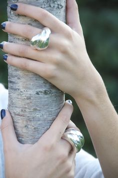anillos plata