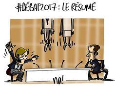 na! (2017-05-04) France:  #2017LeDébat : le résumé - Marine Le Pen  - Emmanuel Macron