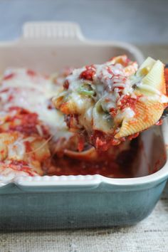 This recipe is a family favorite! I love making this in the summer when zucchini is in season and everywhere! My kids just gobble this down and don't even realize it's packed with vegetables! Give my Zucchini and Mushroom Stuffed Pasta Shells a try!