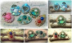 Artisan clay jewels  FOLLOW ME ON : FACEBOOK https://www.facebook.com/pages/Fairymary-Jewels/208528805873162?ref=hl PINTEREST https://www.pinterest.com/fairymaryjewels/ ETSY https://www.etsy.com/it/shop/FairymaryJewels?ref=si_shop INSTAGRAM instagram.com/fairymaryjewels/