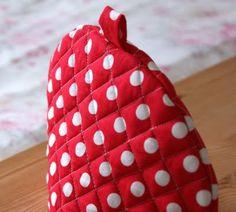 Red Dotty Tea Cosy