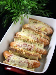 Hot-dog flemmard du dimanche soir - Recette de cuisine Marmiton : une recette