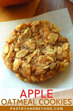 Apple Recipes Healthy Clean Eating, Healthy Apple Desserts, Apple Dessert Recipes, Healthy Cookie Recipes, Healthy Sweets, Healthy Baking, Healthy Recipes With Apples, Healthy Snacks Savory, Diabetic Desserts
