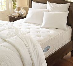 Westin Heavenly® Mattress #potterybarn  The most comfortable bed! Like sleeping on clouds:)