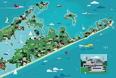 Heystudio.es Wall Street Journal - Long Island map