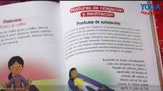 """Posturas de relajación y meditación en el libro """"Yoga para niños"""" de Mariela Maleh y Daniela Méndez, Ediciones Urano. Patricia Iacovone   Agente."""