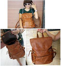 vintage bagpack