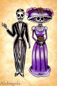 Dia de Muertos Style