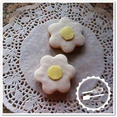 "Butter cookies with sugar paste. ""Flowers"" #cookies #flowers"