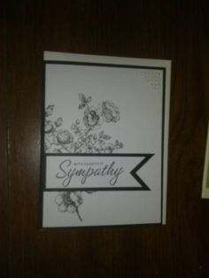 Stylish Sympathy by Muse - Cards and Paper Crafts at Splitcoaststampers