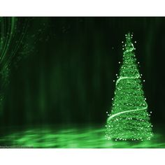 Green Christmas Tree Background wallpaper ❤ liked on Polyvore featuring christmas