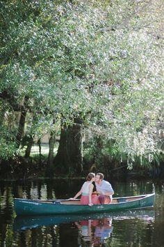 Kayla & Justin   Canoeing Engagement Session » South Florida Photographer   Shea Christine Photography