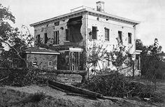 Picture taken of the Ponder House just after the Battle of Atlanta. The Atlanta History Center is full of this stuff!