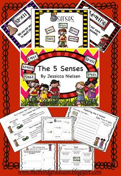 $ This 5 Senses Unit is packed with a variety of hands on and interactive activities designed to help your students learn about the 5 senses. The goals of this unit are: -for students to be able to state the 5 different senses, state how we use each sense, and what we use each sense for. -to have students use their 5 senses in a variety of different fun and interactive ways in the classroom.